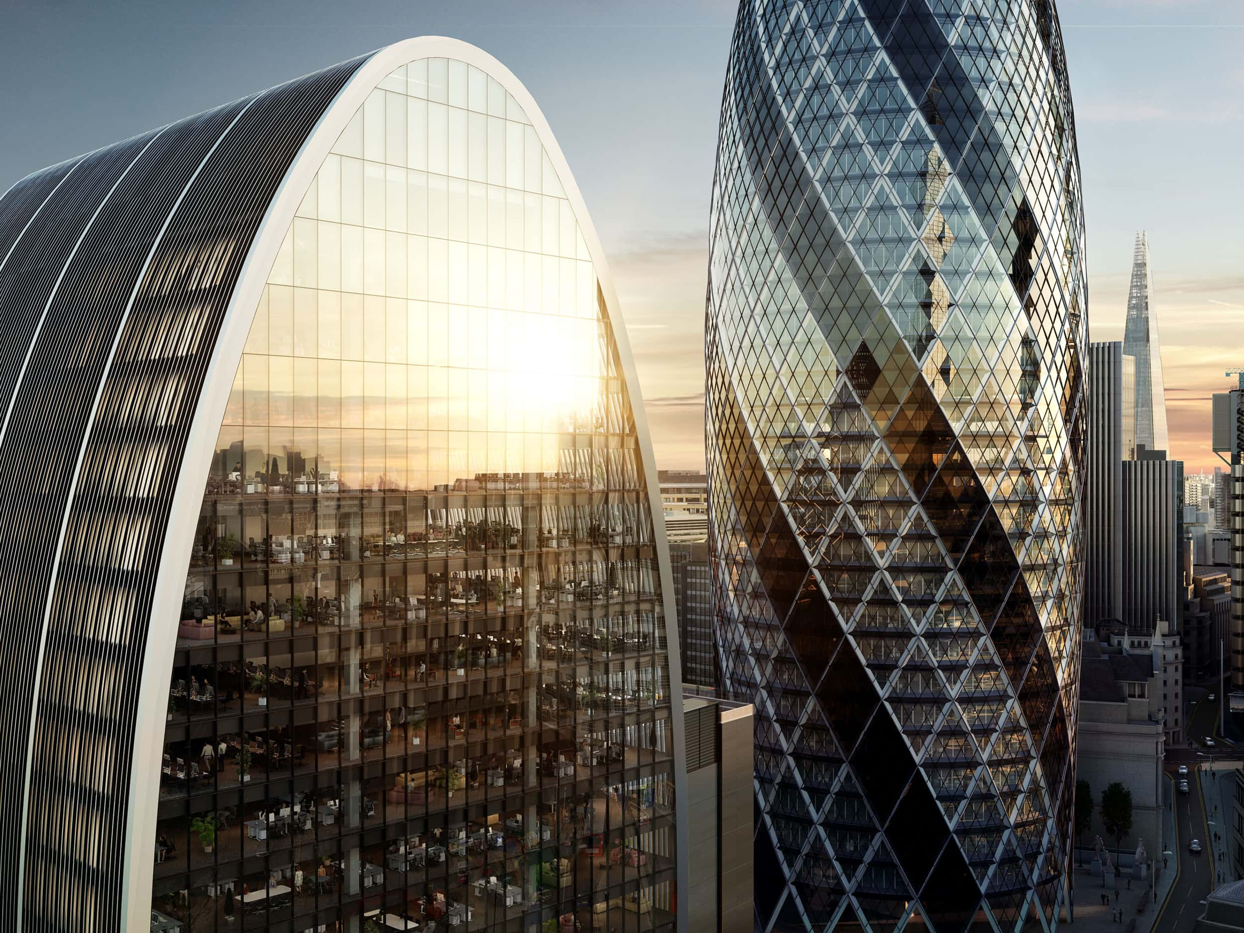 Office Space In The City Of London 70 St Mary Axe